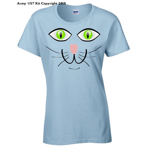Bear Essentials Clothing. Cats Whiskers T-Shirt - Army 1157 Kit  Veterans Owned Business