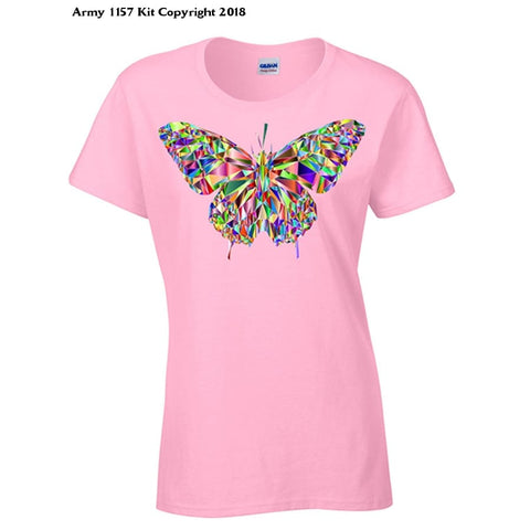 Bear Essentials Clothing. Crystal Butterfly - 12 / Pink - Apparel