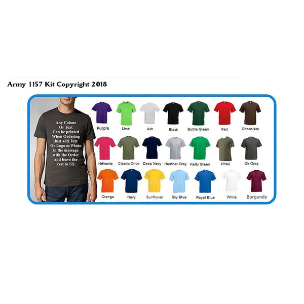 Bear Essentials Clothing. Custom Printed T-Shirts By Personalized By You! Great Gift! For Charity Events Birthday Parties Workwear Clubs