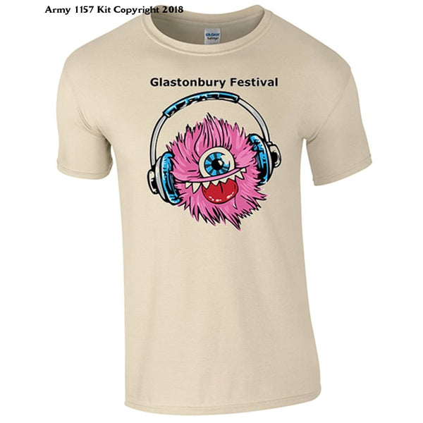 Bear Essentials Clothing. Glastonbury T-Shirt - Army 1157 Kit  Veterans Owned Business