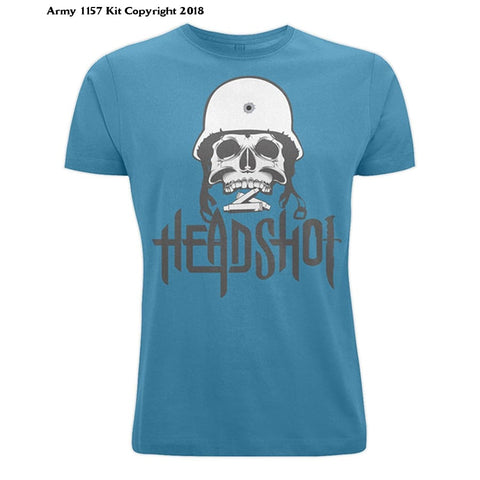 Bear Essentials Clothing. Head Shot (Xxl Deep Teal) - Apparel