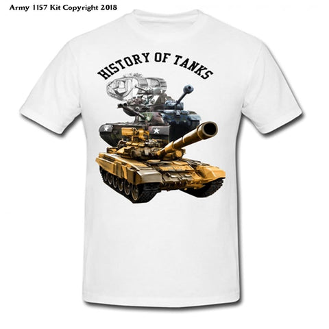 Bear Essentials Clothing. History Of The Tank - Army 1157 Kit  Veterans Owned Business