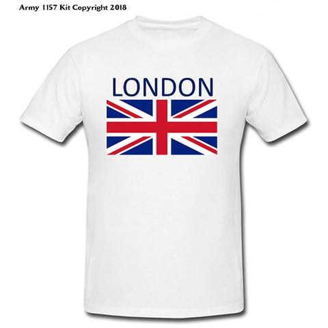 Bear Essentials Clothing. London T-Shirt (S, Black) - Army 1157 Kit  Veterans Owned Business