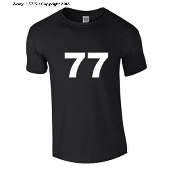 Bear Essentials Clothing. Number T-Shirt - Army 1157 Kit  Veterans Owned Business