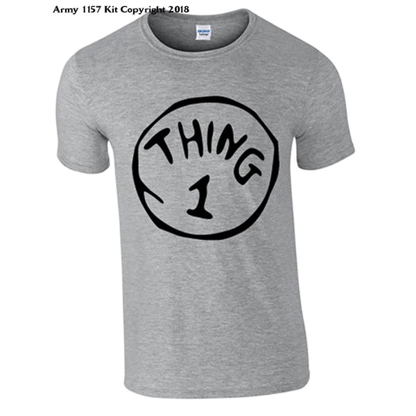 Bear Essentials Clothing. Thing 1 and Thing 2 T-Shirts - Army 1157 Kit  Veterans Owned Business