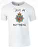 I Love my Royal Corp Transport (RCT) Boyfriend T-Shirt Official MOD Approved Merchandise - Army 1157 Kit  Veterans Owned Business