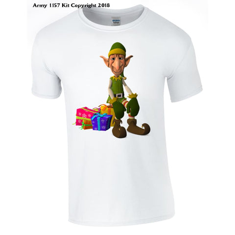 Christmas Elf T-Shirt part of the Army 1157 Kit Christmas Collection - Army 1157 Kit  Veterans Owned Business