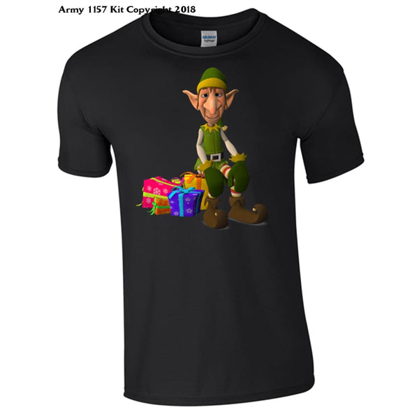 Christmas Elf T-Shirt Part Of The Army 1157 Kit Christmas Collection - S / White - T Shirt