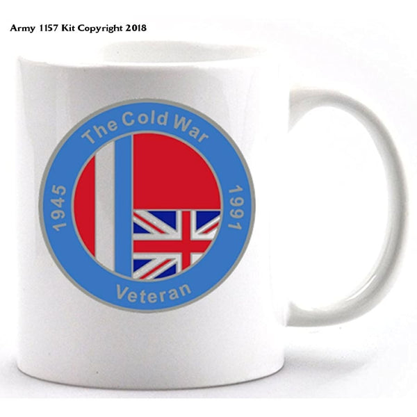 Cold War mug and gift box - Army 1157 Kit  Veterans Owned Business