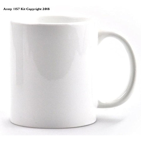 Customize Ministry of Defence Mug with Logo. Official MOD Approved Merchandise - Army 1157 Kit  Veterans Owned Business