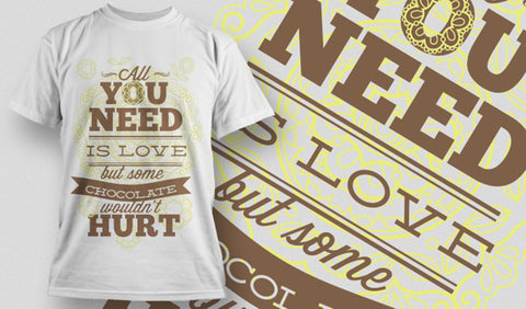 All you Need is Love T-Shirt - Army 1157 Kit  Veterans Owned Business