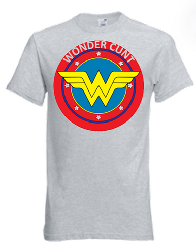 Wonder Woman / Wonder Cunt T-Shirt