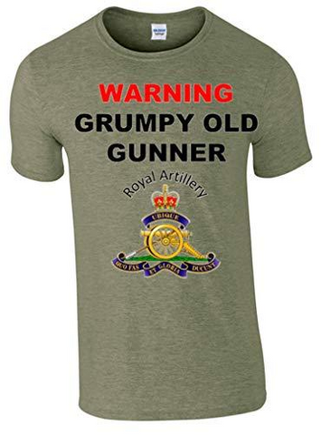 Grumpy Old Gunner T-Shirt
