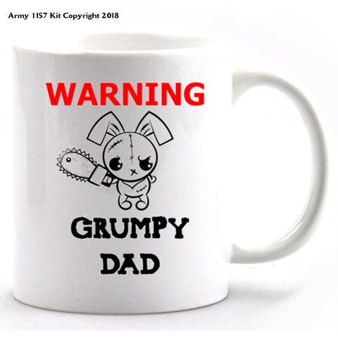 Grumpy Dad Mug and Gift Box Set - Army 1157 Kit  Veterans Owned Business