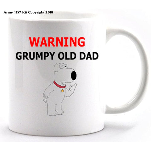 Grumpy Old Dad Mug and Gift Box Set - Army 1157 Kit  Veterans Owned Business