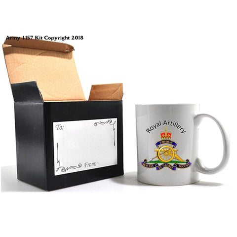 Grumpy Old Royal Artillery Mug and Gift Box Set - Army 1157 Kit  Veterans Owned Business