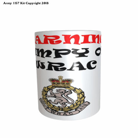 Grumpy Old WRAC mug and Gift Box Set - Army 1157 Kit  Veterans Owned Business