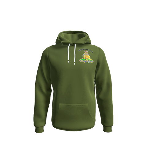 Royal Artillery Hoodies Military Green