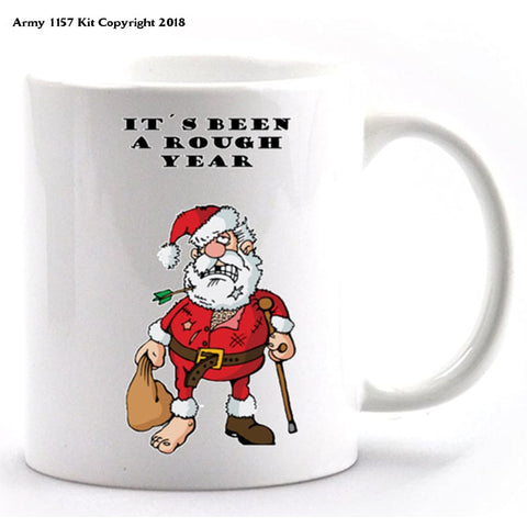 It`s Been A Rough Year Mug And Gift Box Set. Part Of The Army 1157 Kit Christmas Collection - Mug