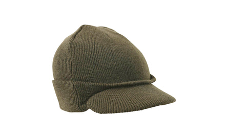 Military Jeep Hat in Black or Olive Green - Army 1157 Kit  Veterans Owned Business