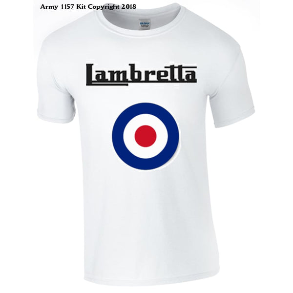 Lambretta Target  T-Shirt - Army 1157 Kit  Veterans Owned Business