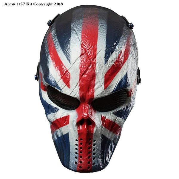 Masks for Airsoft Paintball Full Face - Army 1157 Kit  Veterans Owned Business