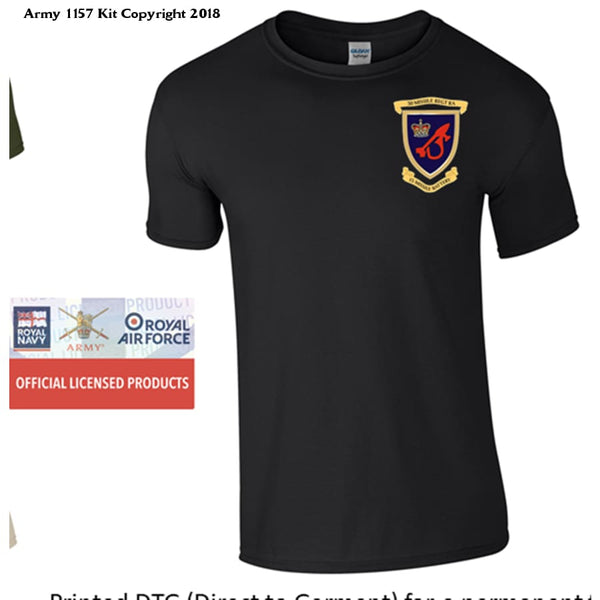 15 Missile Battery T Shirt - Army 1157 Kit  Veterans Owned Business