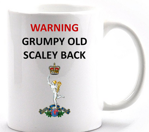 Grumpy Old SCALEY Back Mug