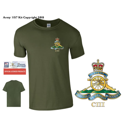 Official Mod Approved Merchandise 103 Regiment Of Artillery T-Shirt - T Shirt