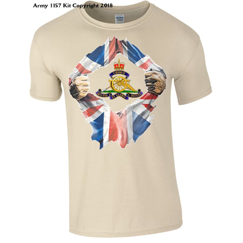 Official Mod Approved Merchandise Breakthrough Royal Artillery - S - T Shirt