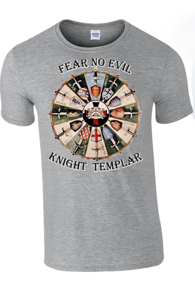 KNIGHT  TEMPLAR T-Shirt - Army 1157 Kit  Veterans Owned Business