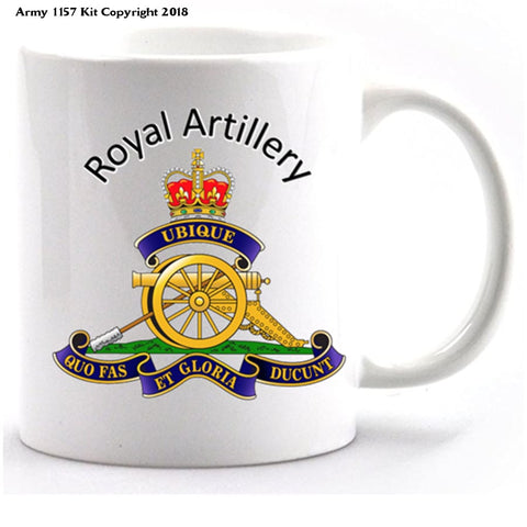 Royal Artillery mug and gift box set Official MOD Approved Merchandise - Army 1157 Kit  Veterans Owned Business