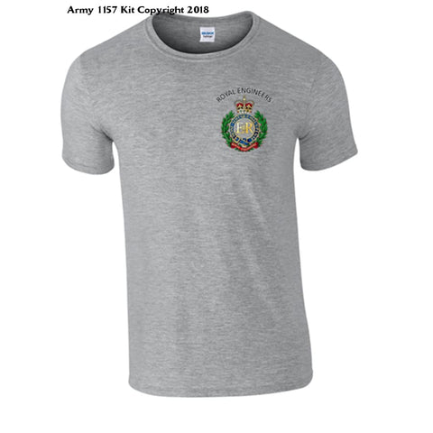 Royal Engineer T-Shirt Official Mod Approved Merchandise - S / Grey - T Shirt
