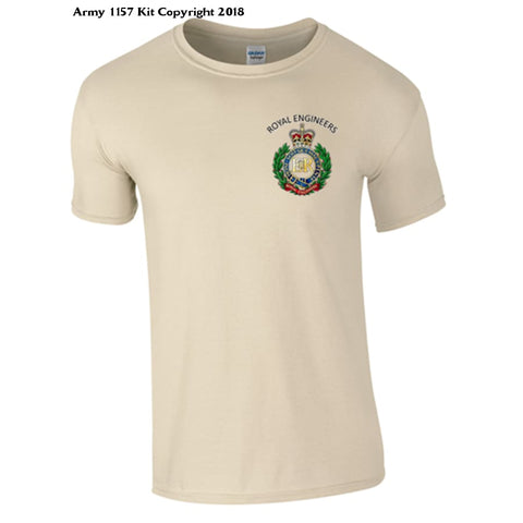 Royal Engineer T-Shirt Official Mod Approved Merchandise - S / Sand - T Shirt