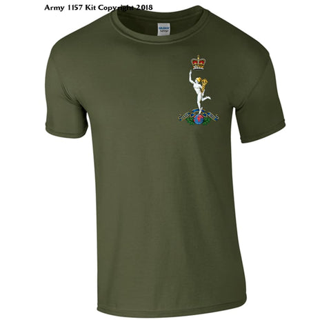 Royal Signals T-Shirt Official Mod Approved Merchandise - S / Green - T Shirt