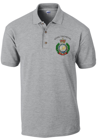Royal Engineers Polo Shirt - Army 1157 Kit  Veterans Owned Business