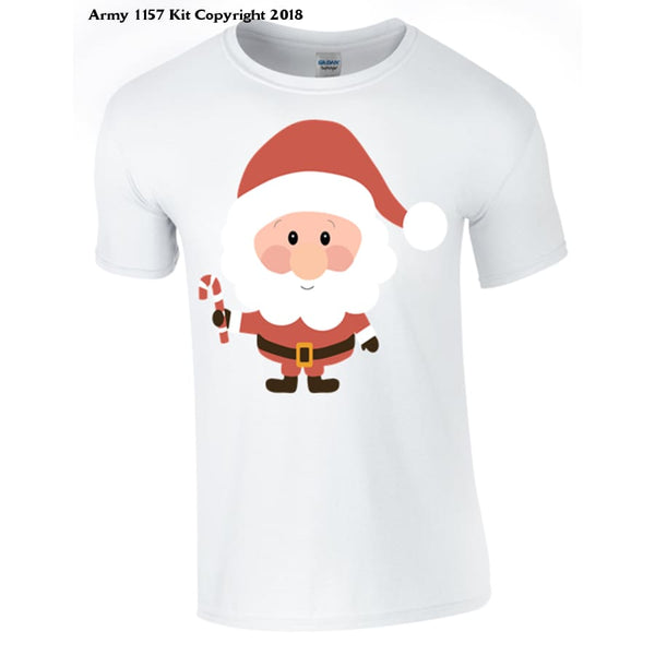 Santa T-shirt part of the Army 1157 Kit Christmas Collection - Army 1157 Kit  Veterans Owned Business