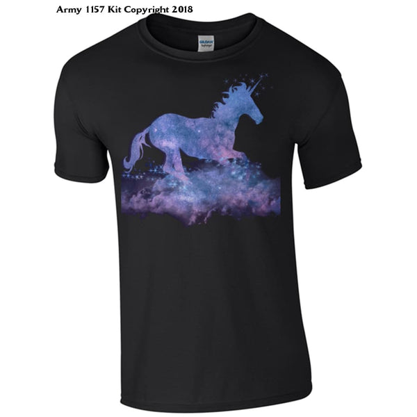 Unicorn in the Night T-Shirt - Army 1157 Kit  Veterans Owned Business