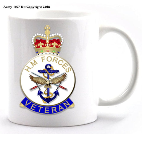 Veteran Mug and Gift box set - Army 1157 Kit  Veterans Owned Business
