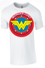 Wonder Woman / Wonder C*** T-Shirt - Army 1157 Kit  Veterans Owned Business