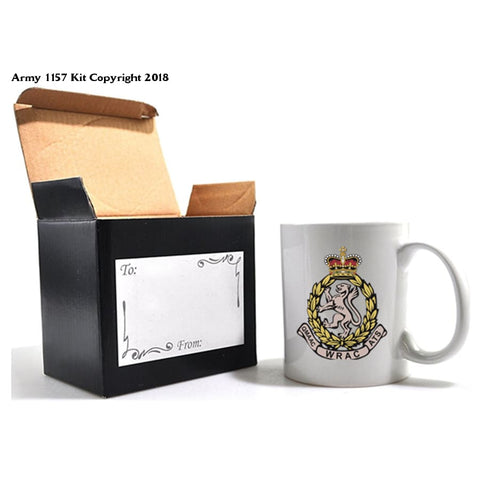WRAC mug and gift box set Official MOD Approved Merchandise - Army 1157 Kit  Veterans Owned Business