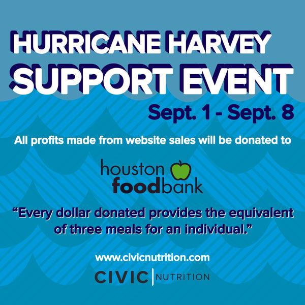 Hurricane Harvey Support Event