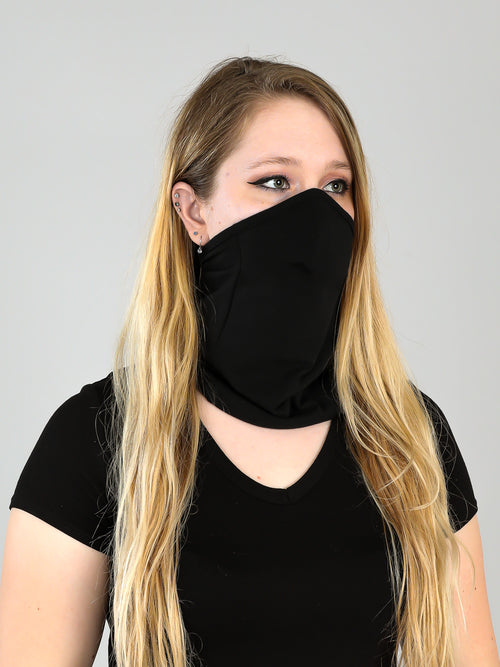 ORGANIC TUBE MASK-DOUBLE LAYER FRONT PANEL-MEDIUM