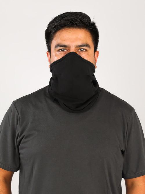 ORGANIC TUBE MASK-DOUBLE LAYER FRONT PANEL-LARGE