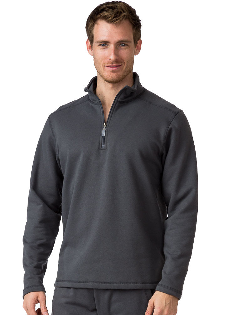 FLEECE LAGUNA MOCK NECK SWEATSHIRT