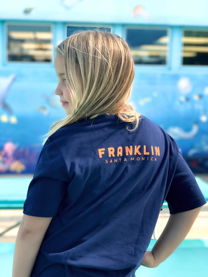 FRANKLIN LOGO TEE-KIDS