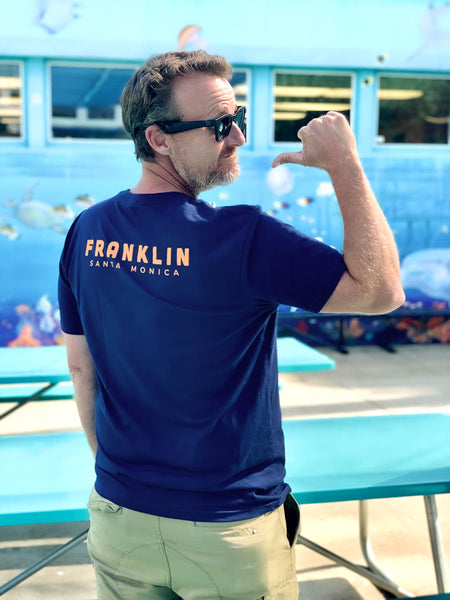 FRANKLIN LOGO TEE-ADULTS