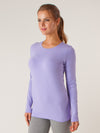 CREWNECK LONG SLEEVE- JERSEY SPANDEX