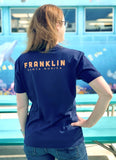 FRANKLIN WOMEN'S ORGANIC COTTON V-NECK TEE