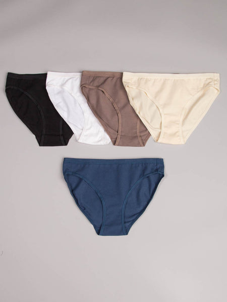 ORGANIC COTTON HI-CUT BRIEF